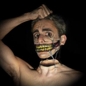 Facepaint Halloween Grime