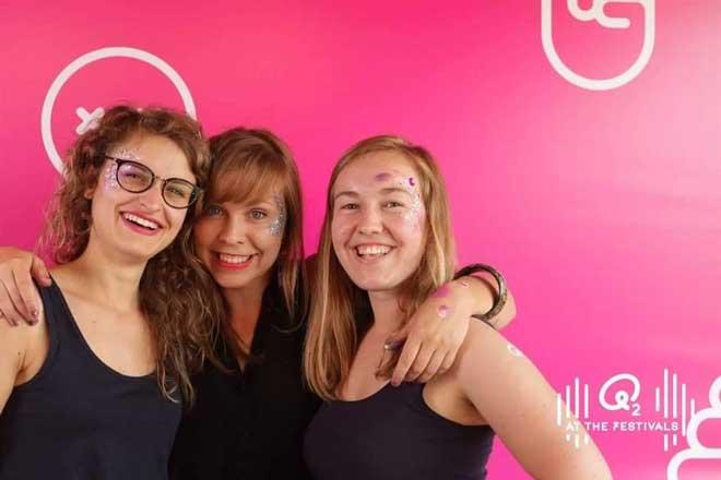 Festival Make-up Facepaint Animatie